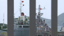 Vietnamese naval ships