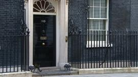 Downing Street scene