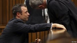 Oscar Pistorius 10 March