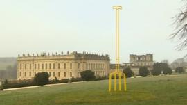 Chatsworth House exhibition
