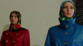 Mannequin dolls at Islamic fashion week in Tehran