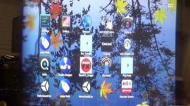 A screen grab of Epson's Moverio