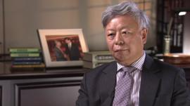 Chairman of China International Capital Corporation, Jin Liqun
