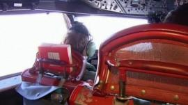 Crew on board surveillance plane