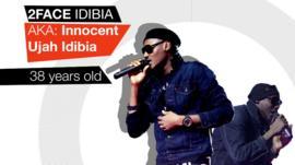 Nigeria's 2Face Idibia