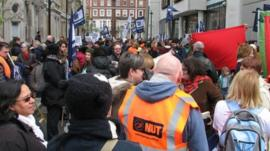 Rally in Central London