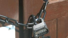 Prime Holiday Lettings property padlocked