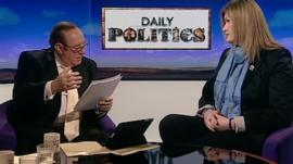 Andrew Neil and Nikki Sinclaire