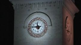 Clock in Crimea