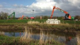 Dredging Somerset levels