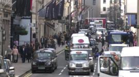 View of Bond Street