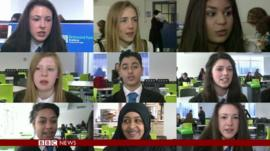 BBC School Reporters on Newswatch