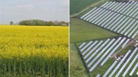 Solar park composite