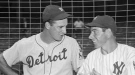 Hank Greenberg and Joe Dimaggio