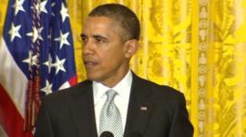 Barack Obama at the White House 3 April 2014