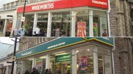 How Woolworths closed and is now Poundland