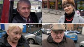 People in Govan