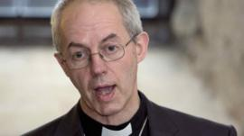 Most Rev Justin Welby