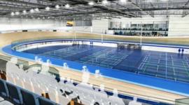 Insight into Derby's new velodrome