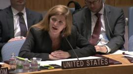 US ambassador to the UN Samantha Power