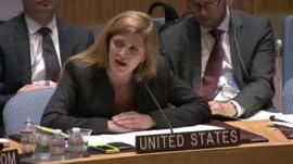 US ambassador to the UN Samantha Power