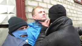 Journalist attacked by pro-Russian mob in Donetsk