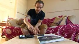 Diabetes sufferer Kraig McLeod