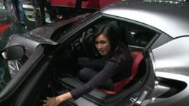 Michelle Fleury tries out the Alfa Romeo 4C