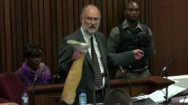 Forensics expert Roger Dixon