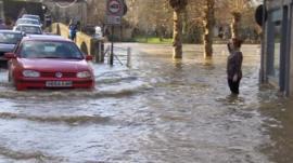 Bradford on Avon was flooded in December 2013