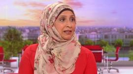 Mussurut Zia from the Muslim Women's Network UK