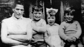 Jean McConville and three of her children