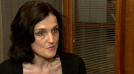 Northern Ireland Secretary of State Theresa Villiers