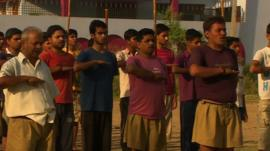 Rashtriya Swayamsevak Sangh (RSS) members