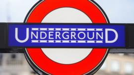 A London Underground sign