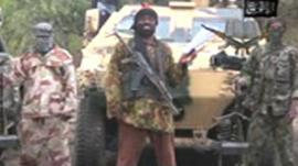 Still from Boko Haram video