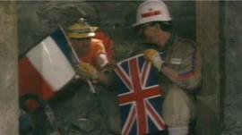 Channel Tunnel breakthrough