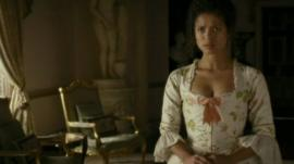Gugu Mbatha-Raw in the film Belle