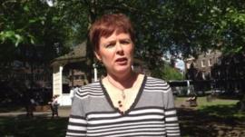 Paedophile helpline co-ordinator Sue Ball