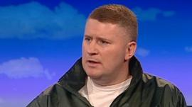 Paul Golding of Britain First