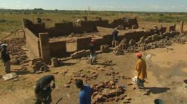 East Midlands builders building a school in 10 days