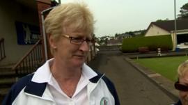 Northern Ireland's Barbara Cameron