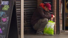 Andy West's second report about living homeless on Belfast's streets
