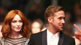 Christina Hendricks and Ryan Gosling