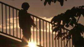 A soldier in Thailand