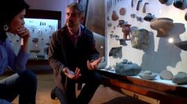 Archaeologist Thomas Stoellner