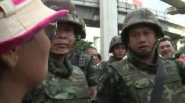 On the ground with Thai protesters