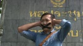 Thai journalist