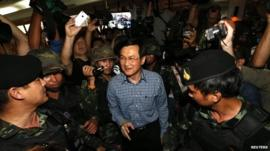 Former Thai Education Minister Chaturon