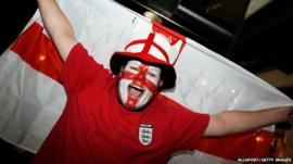 An England fan